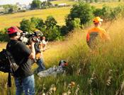 Filming Setter Tales TV